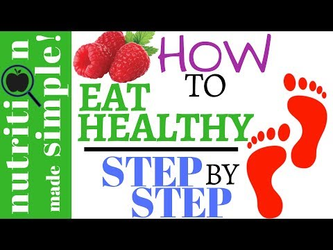 How to start eating healthier | STEP-BY-STEP (Part 1)