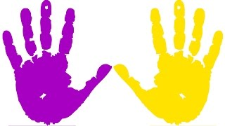 Learn Colors with Paint Learning Video for Children Learning Rainbow Funny Colours with Body Paint