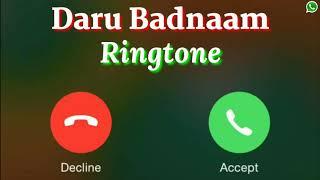 Daru Badnaam Song Ringtone | Kamal Kahlon & Param Singh Song Ringtone | New Punjabi Song Ringtone