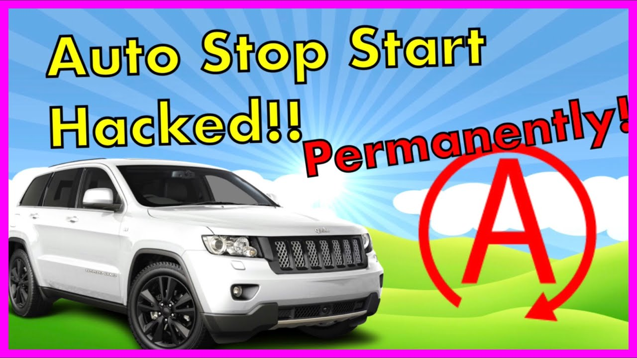 Jeep Grand Cherokee 🔴How to disable stop start (ESS)🔴 Dodge Durango the  right way  For Free!! 🔴