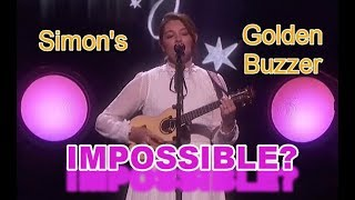 GOLDEN BUZZER   DEAF SINGER???  She Makes Simon Emotional   ANGEL Makes Impossible Possible!