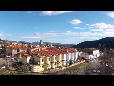 Viver (Castellón), una tarde de invierno