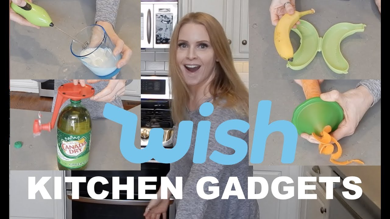 TESTING KITCHEN GADGETS FROM WISH | skip2mylou - YouTube