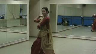 Elena Medvedkina dancing folk dance of rajasthan sung by Ila Arun- Assi Kali Ka