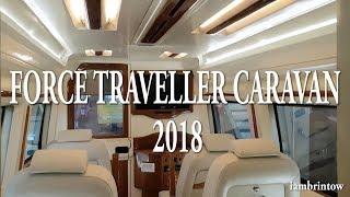 FORCE TRAVELLER CARAVAN 2018 FOR 30 LAKHS