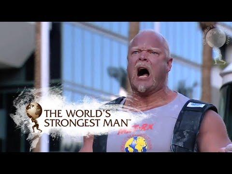 2007: Fire Engine Pull  Samuelsson  World's Strongest Man