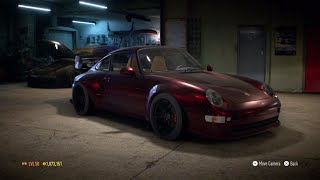 """Need for Speed 2015 - """"Porsche 911 Carrera S (993) 1996"""" - 996 HP Build !!! (Victory Lap)"""