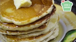 Fluffy Pancake Recipe - Episode 79 - Amina is Cooking
