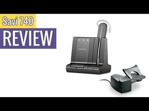 Plantronics Savi 740 Wireless Headset System review
