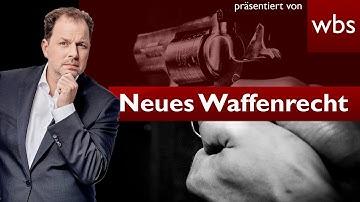 Änderungen im Waffenrecht - Das gilt jetzt   Rechtsanwalt Christian Solmecke