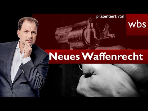 Änderungen im Waffenrecht - Das gilt jetzt | Rechtsanwalt Christian Solmecke