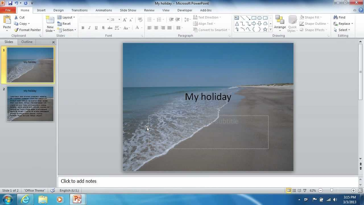 how to extract powerpoint 2010 background image youtube