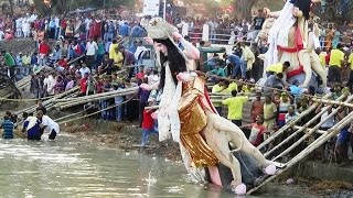 Immersion Festival Of Goddess Jagaddhatri Idol At Chandannagar Full Video