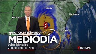 Última actualización de la trayectoria del huracán Michael tras tocar tierra | Noticiero | Telemundo