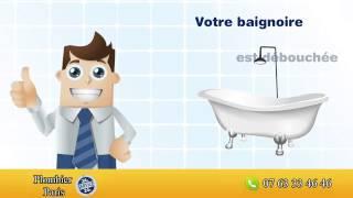 Plombier paris pour déboucher votre baignoire à 0 €(Notre plombier paris vous donne une astuce pour déboucher votre baignoire rapidement et sans dépenser de l'argent. Si votre baignoire ne se débouche pas ..., 2014-04-28T09:00:02.000Z)