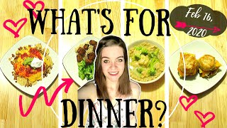 What's For Dinner?| Easy And Budget Friendly Meals!| Weeknight Friendly!