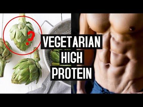 VEGETARIAN HIGH PROTEIN FOODS