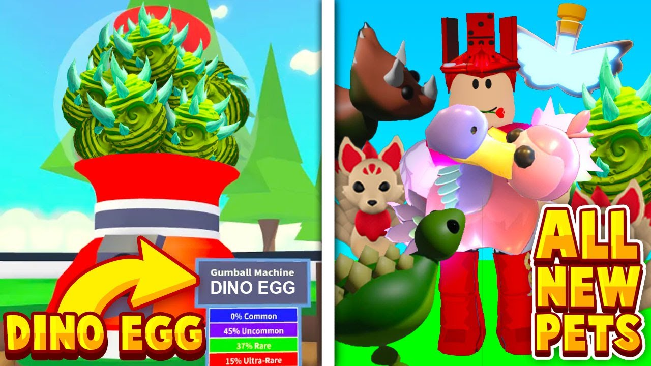 All Dinosaurs Coming Out In Adopt Me Dino Egg Update! NEW Roblox Adopt Me Prehistoric Pets