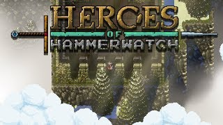 Heroes of Hammerwatch Gameplay Impressions - Dungeon Diving Action!