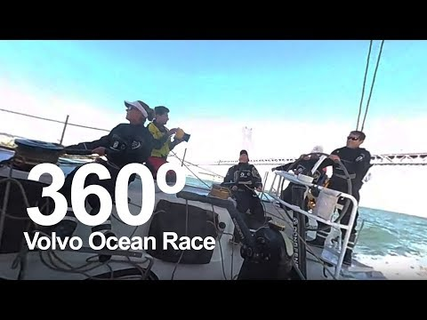 360° ALERT You are the sailor! | Volvo Ocean Race