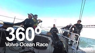 360° ALERT You are the sailor!   Volvo Ocean Race