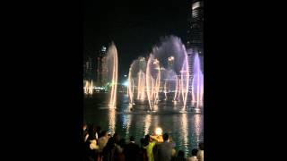 Enrique Iglesias  , dubai fountain , hero