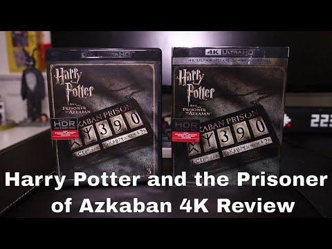 Harry Potter and the Prisoner of Azkaban 4K Blu-Ray Review