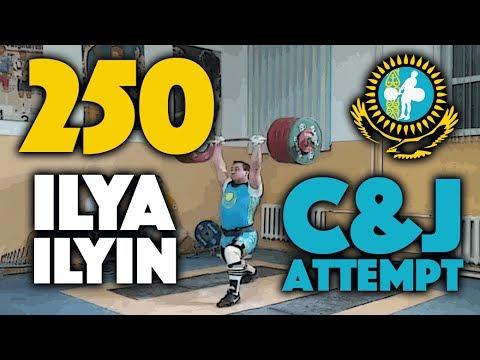Ilya Ilyin - 250kg Clean and Jerk Attempt