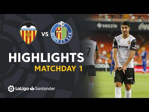 Valencia Getafe Goals And Highlights