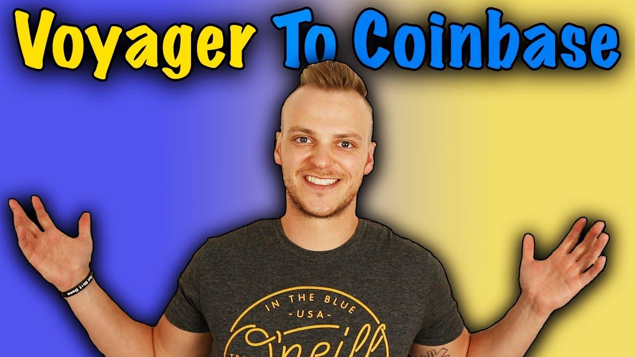 Konnen Sie Bitcoin von der CoinBase uber den Voyager ubertragen?