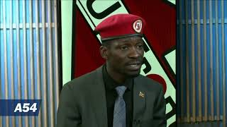 Gambar cover Africa 54 sits down with Ugandan opposition leader Bobi Wine