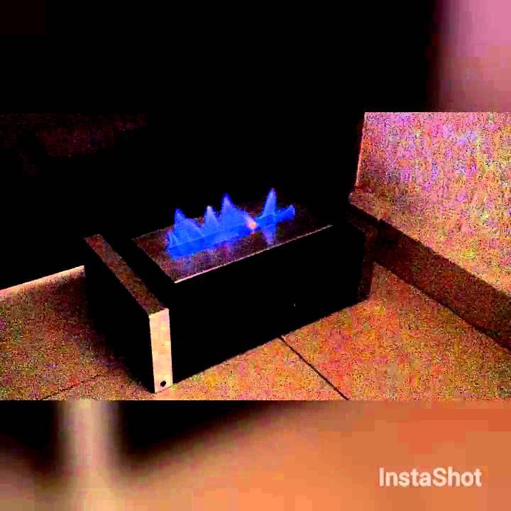 Chimenea luxe de alcohol etanol para habitacion youtube - Chimenea de alcohol ...