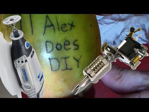DIY Tattoo Machine from a DREMEL!