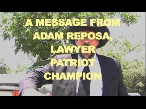 ADAM REPOSA: Lawyer, Patriot, Champion