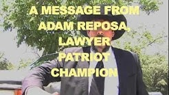 ADAM REPOSA: Lawyer, Patriot, Champion