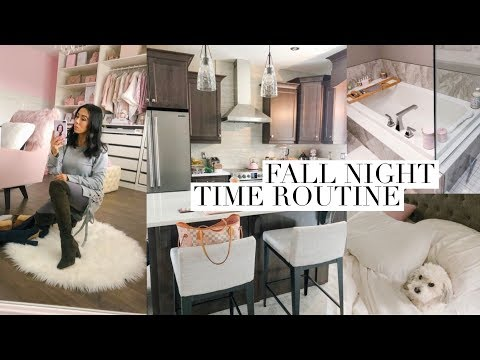 COZY FALL NIGHT TIME ROUTINE!🍁