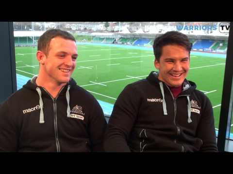 Nick Grigg and Sam Johnson Exclusive