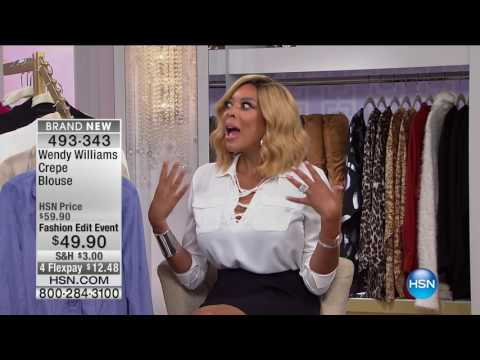 HSN | Weekends with Wendy Williams Fashions 09.24.2016 - 01 PM