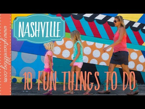 10 Fun Things To Do in Nashville Tennessee with kids