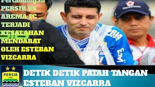 Download Video DETIK DETIK ESTEBAN VIZCARRA PATAH TANGAN ..... ENGGAL DAMANG MANG VIZ :) MP3 3GP MP4