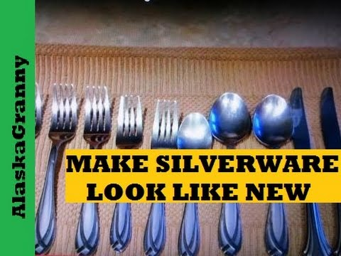 Make Your Silverware Look Brand New- Cleaning Solutions Tips Tricks Hacks