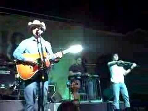 Aaron Watson performs San Angelo 4-18-08