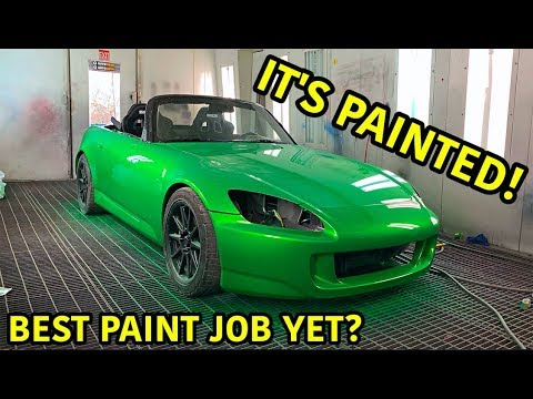 Rebuilding A Wrecked Honda S2000 Part 10