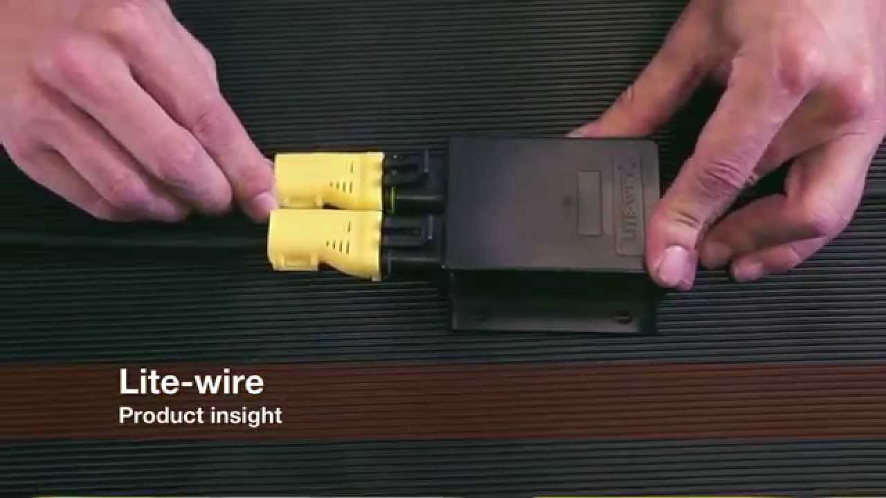 Lite wire Vehicle Wiring System from Dun Bri Group - YouTube