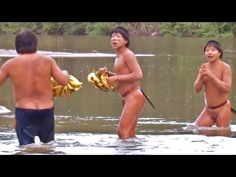 """Uncontacted"" Indians Emerge from Amazon Rainforest from YouTube · Duration:  8 minutes 4 seconds"