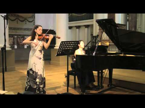 Edward Elgar Romance for Violin and Piano Op.1 by Ani Batikian
