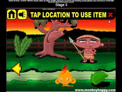 Игры Счастливая обезьянка бесплатно онлайн на