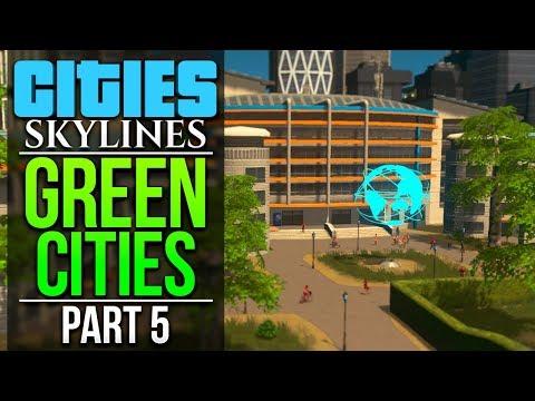Cities: Skylines Green Cities | PART 5 | MODERN TECHNOLOGY INSTITUTE