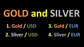 1D Draw Trend Precious metal Gold USD and EUR Silver USD and EUR Daily Chart HD 110 cAlgo and cTrade