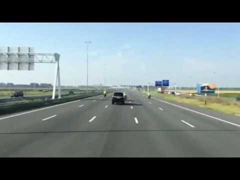 Jan de Rijk Logistics 'last mile' of trix'' towards naturalis Leiden